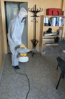 Profesionální polymerová dezinfekce prostor proti virům